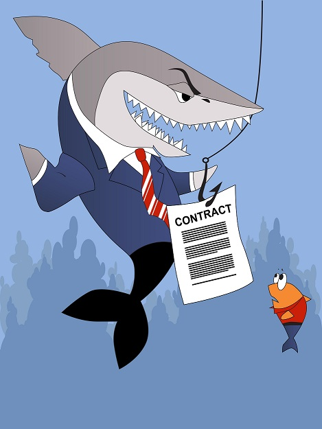 Unfair Contract Terms – Business 2 Business Contracts (Shark